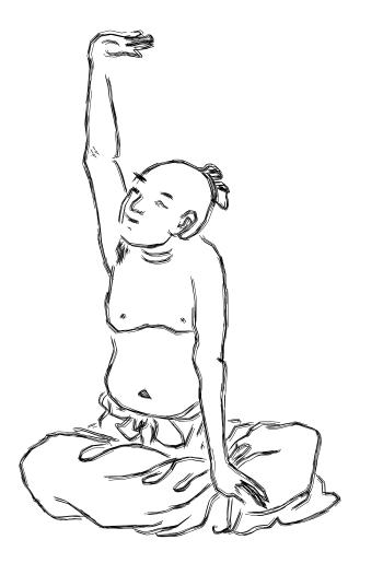 pratiquant de qi gong